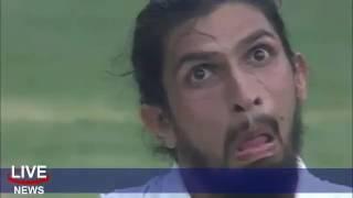 Virat Kohli Splits after Ishant Sharma & Steve Smith mimic each other   India Vs Australia 2nd test