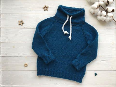 Вязание для мальчиков спицами свитер