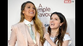 "Blake Lively y Anna Kendrick presentan ""A simple Favor"" en Londres 