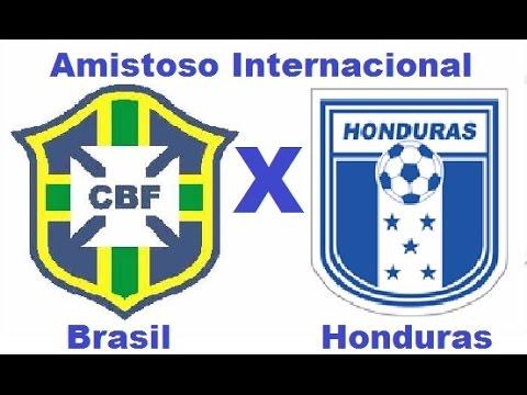 Brasil 1 x 0 Honduras - Amistoso Internacional 2015 - Jogo Completo
