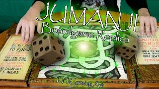 Jumanji Boardgame Replica - T H Cooney Art