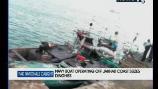 Gujarat: 26 Pakistani fishermen, 5 boats apprehended in Jakhau port