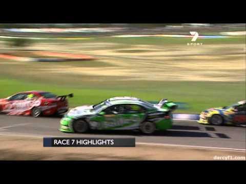 V8 Supercars Perth 2011 Race 7 Highlights 48MuffinMan