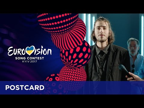 Postcard of Salvador Sobral from Portugal - Eurovision Song Contest 2017