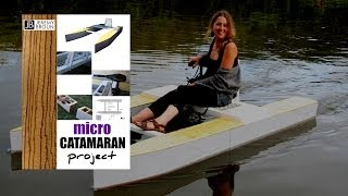 Wooden Micro Catamaran Plans - e-manual preview