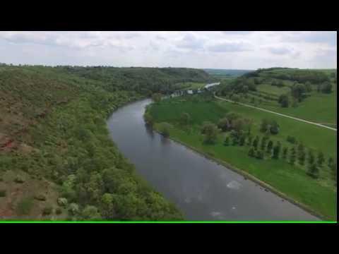 Rothenburg an der Saale im 4K  Drone/Bird View Spring 2016