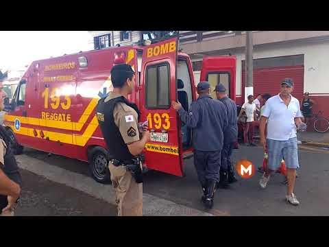 Acidente na Avenida Dona Floriana deixa vítima ferida
