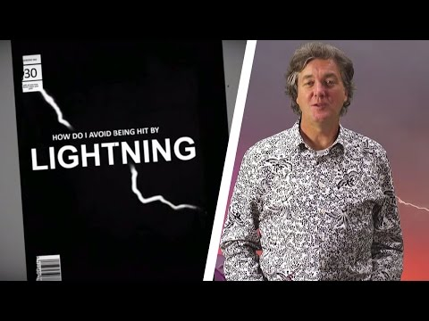 How To Avoid Being Hit By Lightning - James May's Things You Need To Know - Brit Lab - BBC