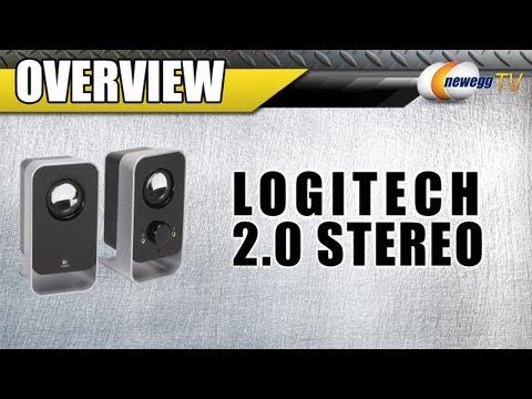 Newegg TV: Logitech 2.0 Stereo Speaker System Overview