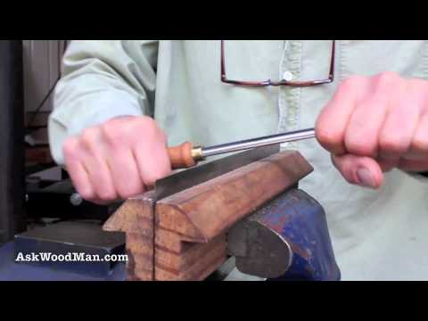 Old Japanese Saw Makes A Great Woodworking Scraper • Complete Sharpening Series Video 21