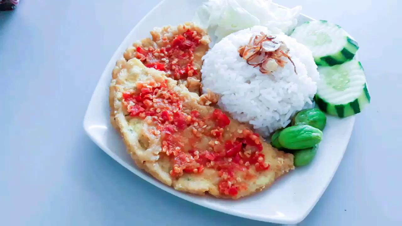resep telur geprek sambal bawang