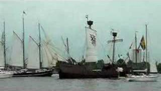 Old ship attacks Hamburg Harbour 2007