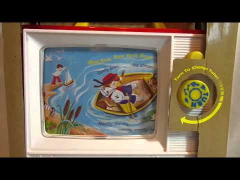 Fisher Price TWO TUNE TV 12 Mo And Up 1696 Yesterdays Classics 2014