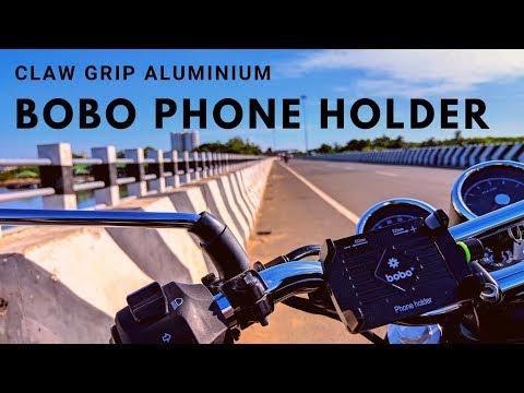 BOBO CLAW-GRIP ALUMINIUM PHONE HOLDER | IS IT WORTH BUYING? | INTERCEPTOR 650
