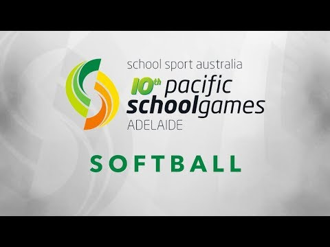 2017 Pacific School Games - Softball