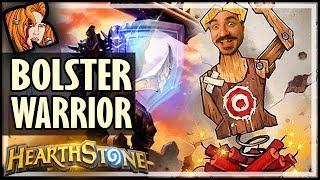 BOLSTER WARRIOR IS #1 IN WILD??? - Saviors of Uldum Hearthstone