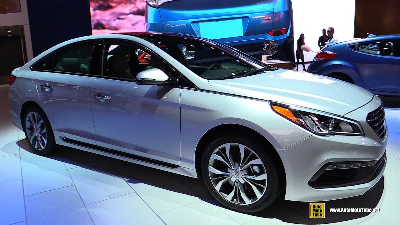2016 Hyundai Sonata 2 0T Limited Exterior and Interior