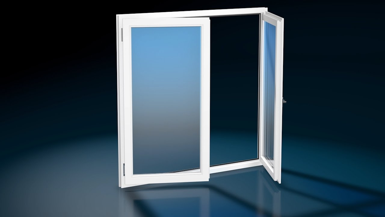Finestra due ante finestra 2 anta masterplast for Finestra pvc 2 ante