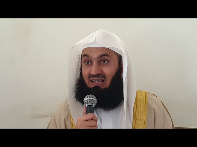 Health and the terminally ill - Mufti Menk