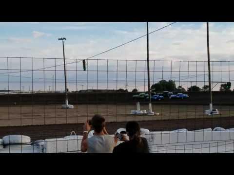 8-4-17 Wagner Speedway heat race