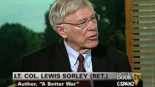 """Book TV: Washington Journal: Lewis Sorley, """"A Better War"""""""
