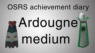 [OSRS] Ardougne medium diary guide
