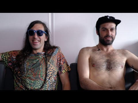 Crystal Fighters interview - Gilbert and Graham (part 1)