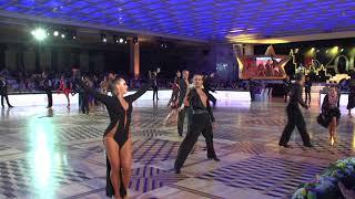 1/4 Кубка Кремля среди любителей по латиноамериканским танцам: джайв