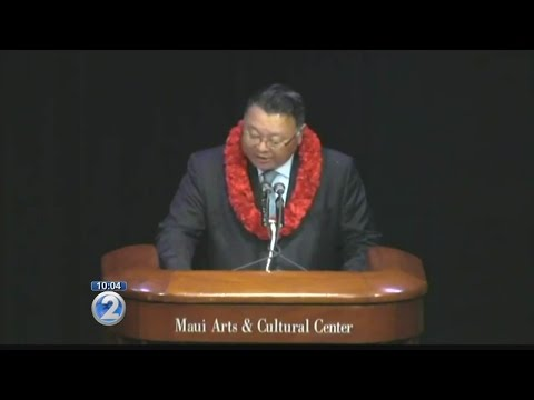 Maui mayor addresses body cameras, misspending in State of the County