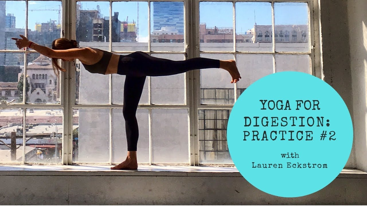 Yoga for Digestion: Practice #2 - YouTube