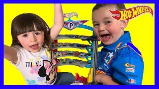 Epic Hot Wheels Ultimate Garage Playset with Shark Attack Spiral Ramp - Huge Toy Car Collection Fun!
