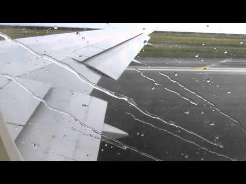 Hawaiian Airlines 767 - Wet & Heavy Takeoff from Honolulu International Airport (HNL-SMF)