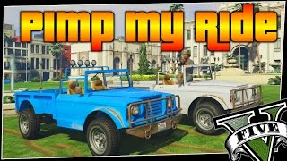 GTA 5 - Pimp My Ride #194 | Canis Bodhi | Car Customization Competition