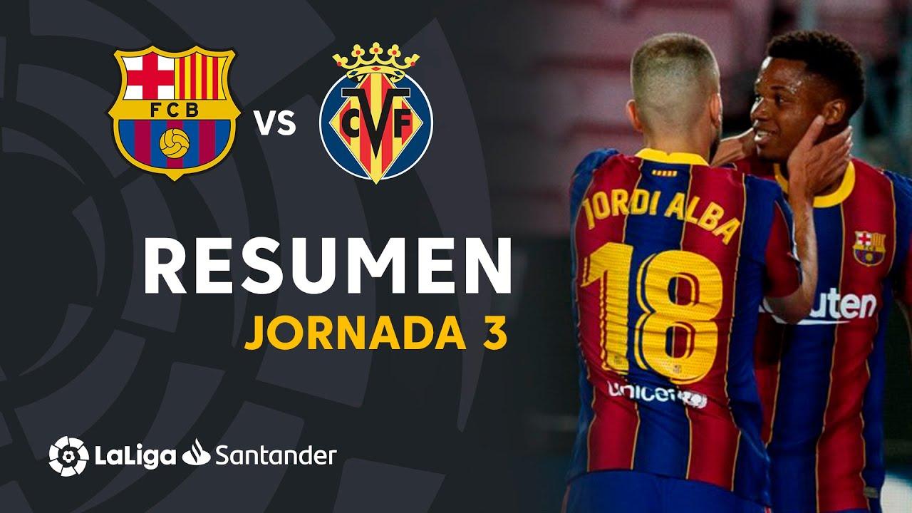 Download Resumen de FC Barcelona vs Villarreal CF (4-0)