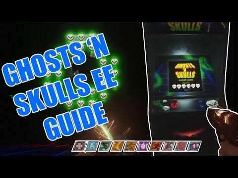 Ghosts 'N Skulls Easter Egg Guide - Zombies in Spaceland