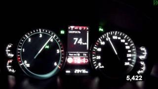 Lexus LX 450d - Acceleration 0-100 km/h (Racelogic)