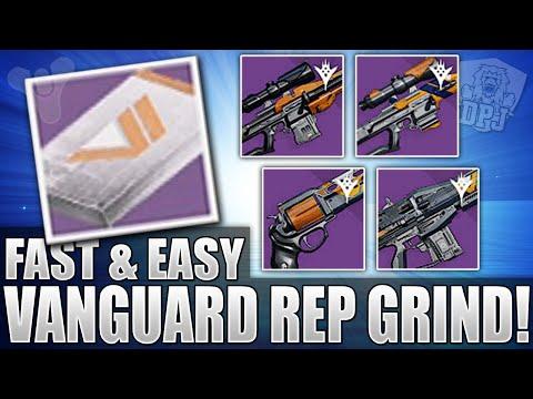 Destiny: Super EASY Vanguard Reputation / Package Grind - 1000 Yard Stare & LDR 5001 Farm!