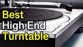 ✅ TOP 5 Best High End Turntabl…