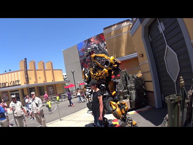 Transformers Bumblebee - Universal Studios Hollywood