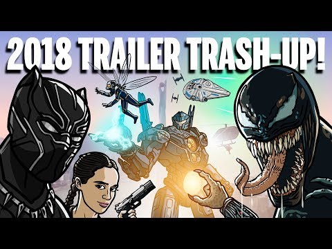 2018 TRAILER TRASH-UP! - TOON SANDWICH