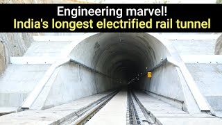Indian Railways longest train tunnel electrification project in Andhra Pradesh is a marvel