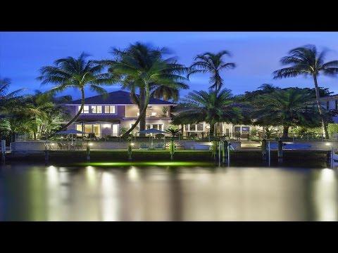 Stylish Coastal-inspired Deepwater Estate - 2521 NE 43rd Street, Lighthouse Point, Florida