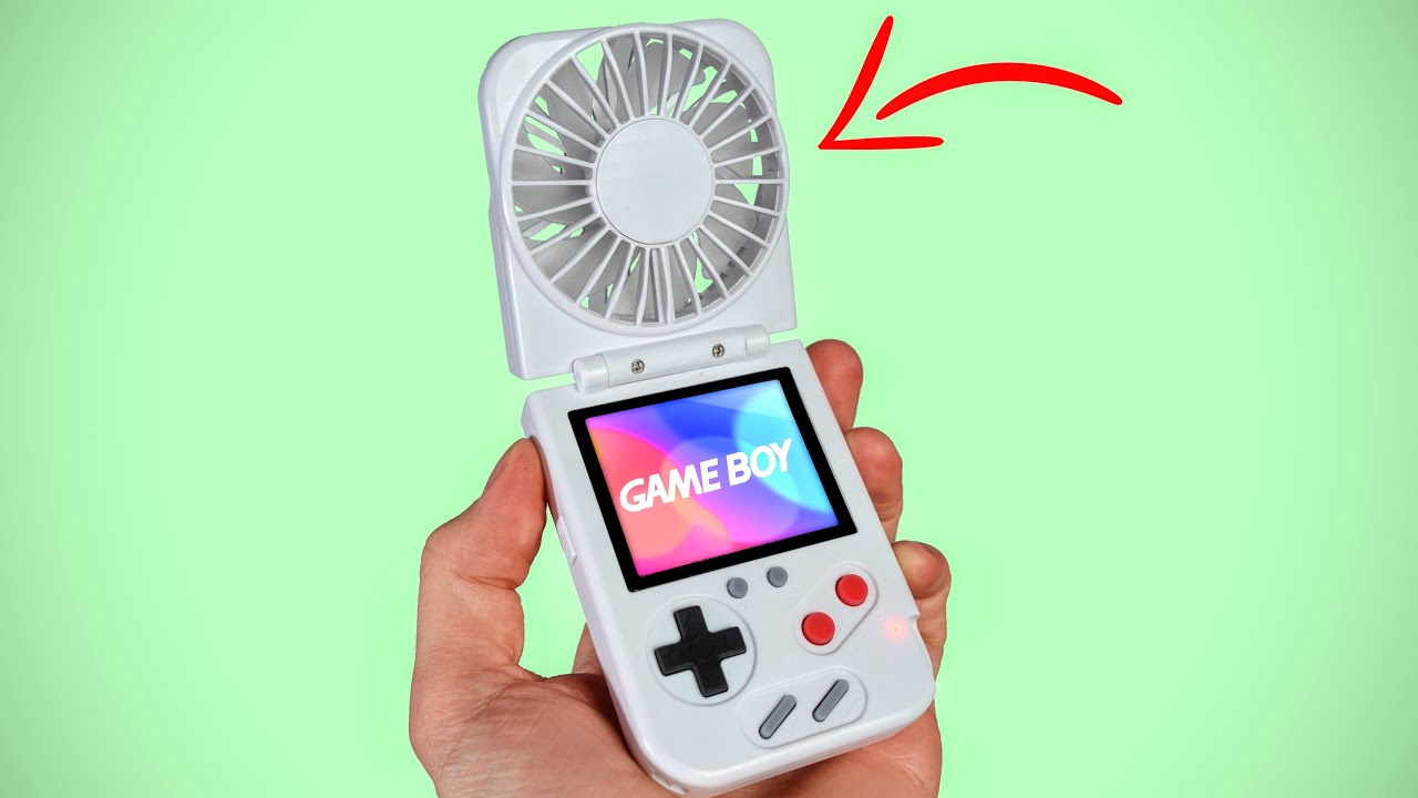 The COOLEST GameBoy ever made