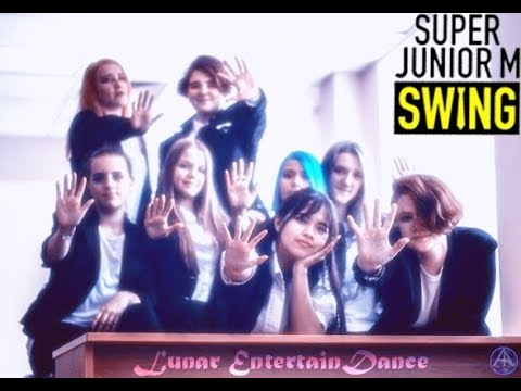 Super Junior Swing (dance Cover By Students Led) (russia)