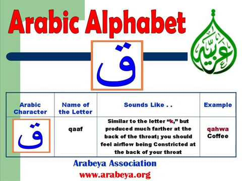 Learn Arabic language  with Arabeya  (the Arabic Alphabet)  in an easy way