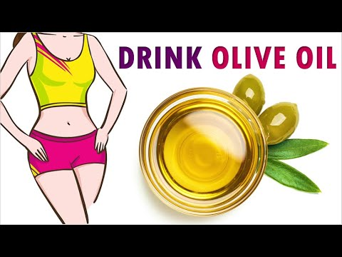 DRINK OLIVE OIL Every Morning on Empty Stomach  10 Effective Olive Oil Benefits   5-Minute Treatment
