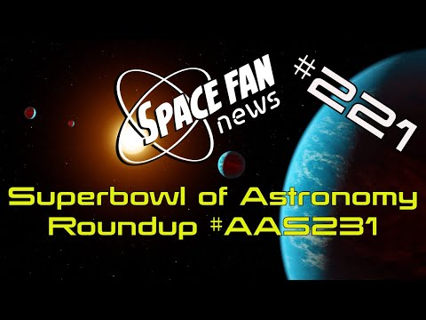 #AAS231 Superbowl of Astronomy Roundup: DES Data; JWST Update; Distant Galaxy Found; Citizen Science