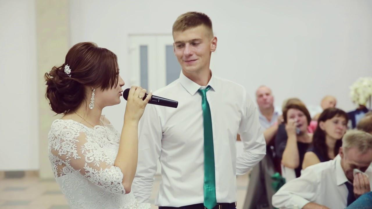 стоять ответные поздравления от жениха и невесты канарис