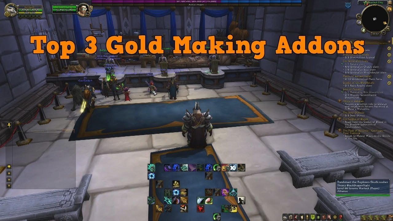 Best wow auction house addons for making gold youtube.