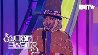 Erykah Badu Describes Her Journey Of Light, Greatness and Growth As She Accepts the Legend Award